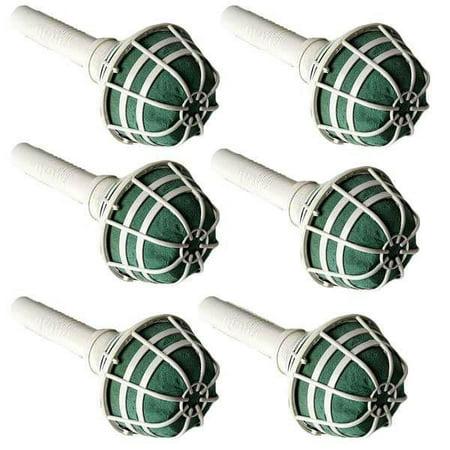 Efavormart 6 PCS Wholesale Bridal Wedding Foam Bouquet Holders For Vase Centerpieces (Glass Bouquet Holder)