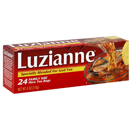 Luzianne Family Sized Iced Tea, 6 oz, 24ct (Pack of 6)