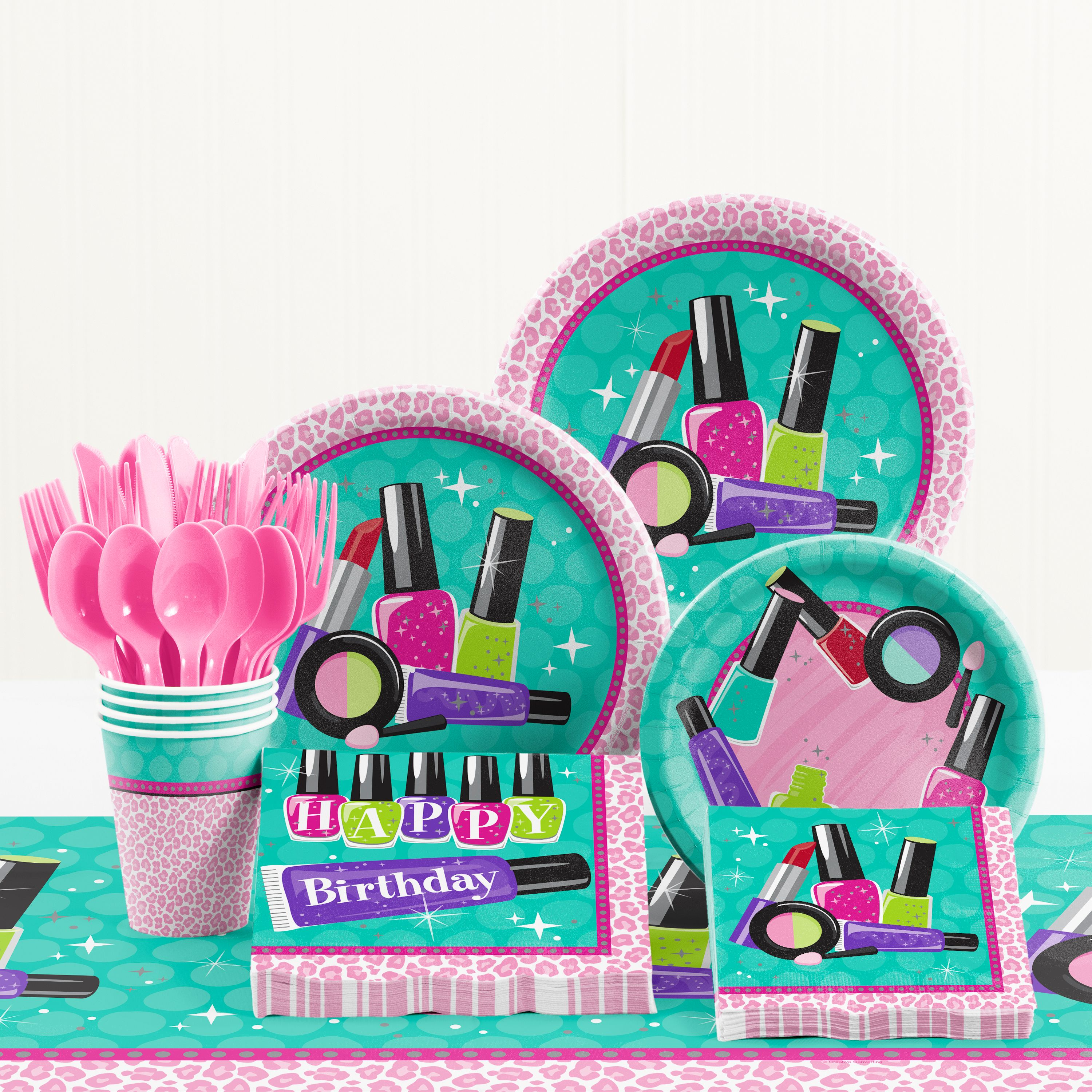 Sparkle Spa Birthday Party Supplies Kit