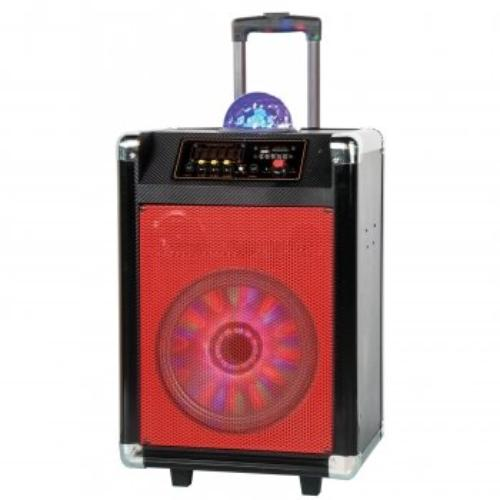 "Supersonic 12"" Rechargeable DJ Speaker"