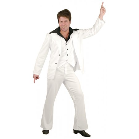 Mens Disco Fever Halloween Costume (Mens Disco Suit)