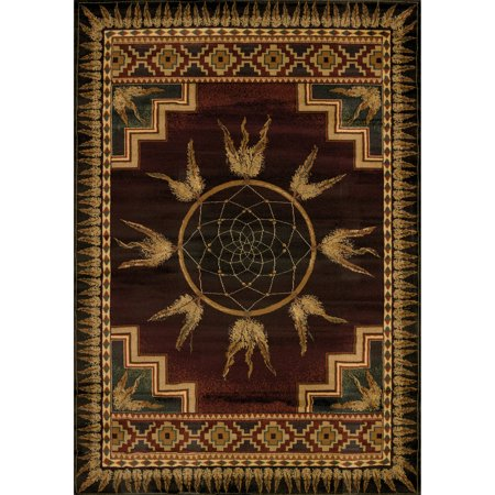 United Weavers Big Timber Native Dream Woven Polypropylene Area Rug or Runner - Dream Weavers