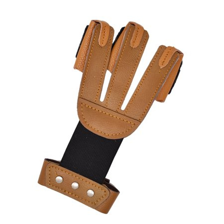 Safari Choice Archery Leather Finger Protector Tab Shooting (Elite Finger Tab)
