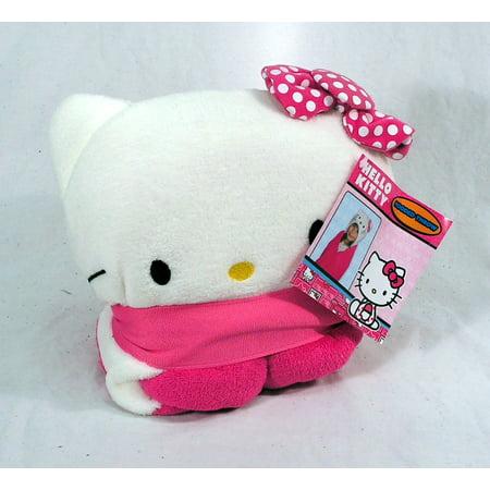 Sanrio Hello Kitty Hold Me 40x50 Hooded Throw Blanket