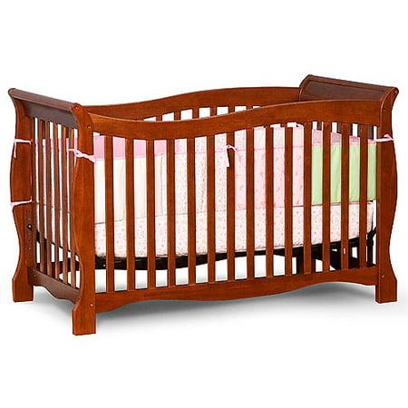 Baby Relax Bethany James 4 In 1 Convertible Crib Walnut