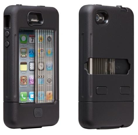 Case-Mate Tank Case for Apple iPhone 4 (Black/Black)