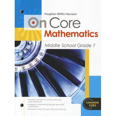 Houghton Mifflin Harcourt on Core Mathematics : Student Worktext Grade 7