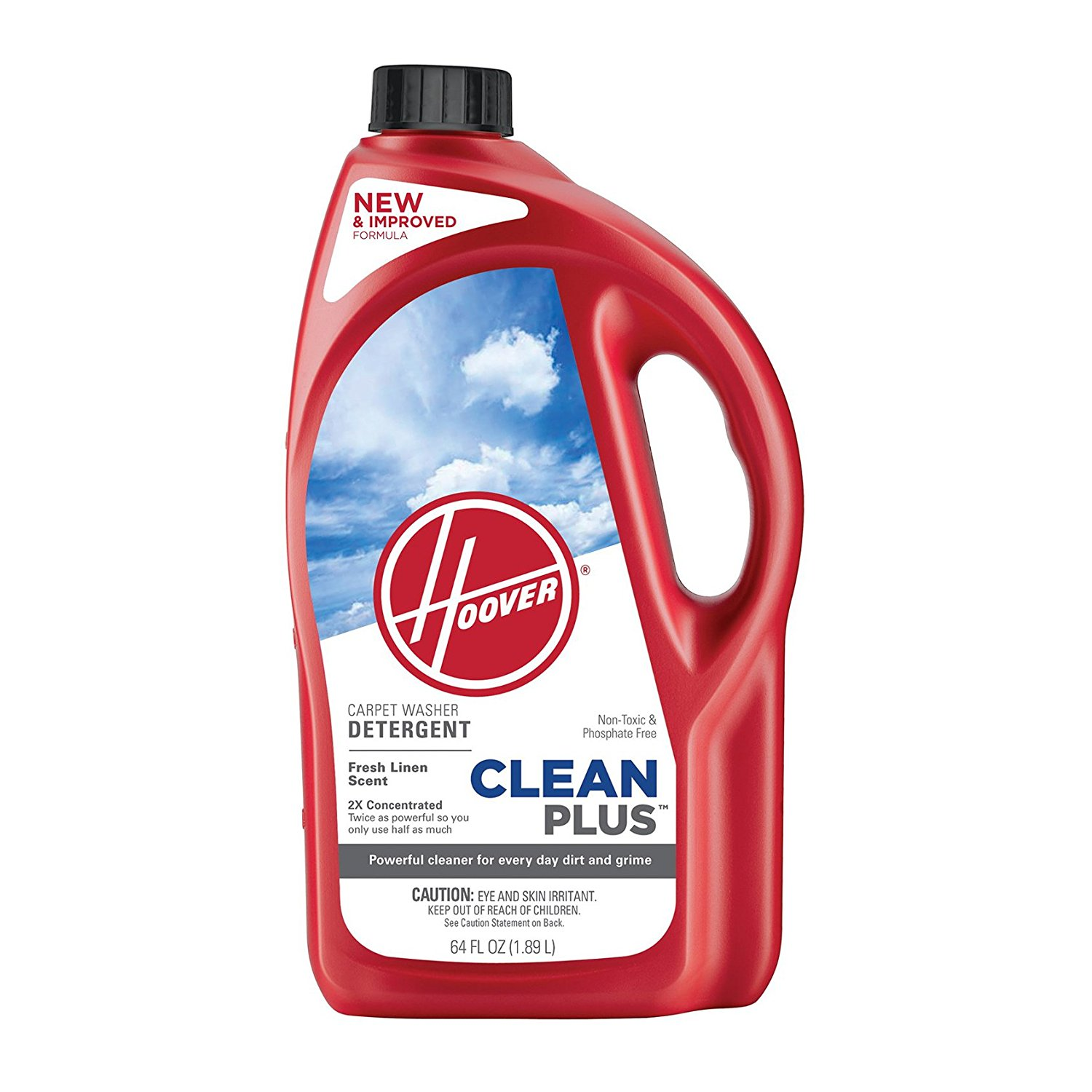 Hoover Cleanplus 2X Concentrated Carpet Cleaner and Deodorizer