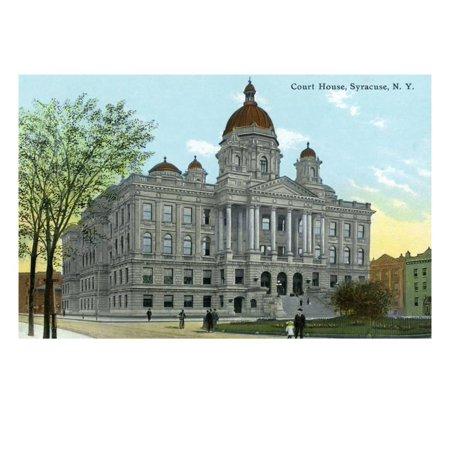 Syracuse, New York - Court House Exterior View Print Wall Art By Lantern Press](Party City Syracuse New York)