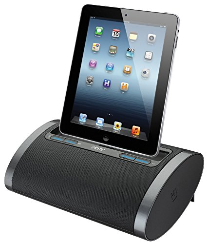IHome Rechargeable Portable Speaker With Lightning Dock For IPhone 5/5s,  IPod, IPad