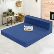 GranRest 4'' Gel Memory Foam Tri-Fold Mattress/ Sofa Bed