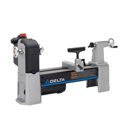 Delta 46-460 12-1/2 in. Variable-Speed Midi Lathe