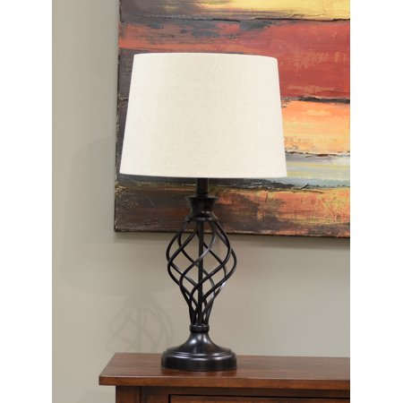 Better Homes and Gardens Iron Cage Table Lamp (Bulb Included)