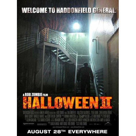 Halloween Posters For Kids (Halloween 2 - movie POSTER (Style F) (11