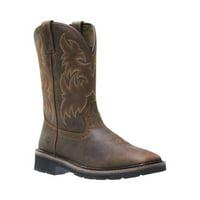 "Men's Wolverine Rancher Square Steel Toe 10"" Wellington Boot"