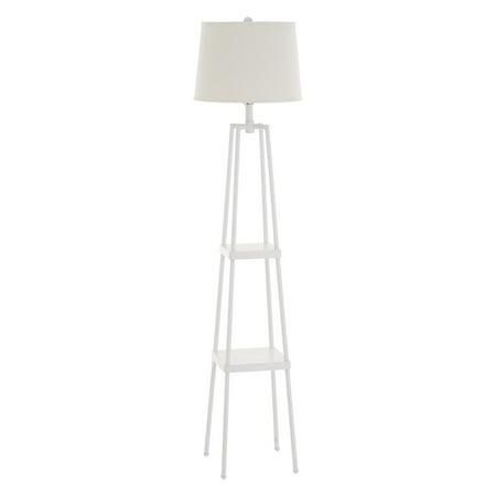 Cresswell Lighting Sawyer 3-Way Etagere Floor Lamp 150w 3 Way Floor Lamp