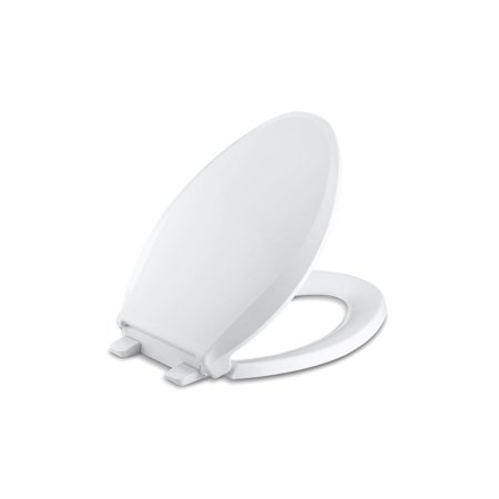Kohler Cachet Quiet-Close™ with Grip-Tight Elongated Toilet Seat, White