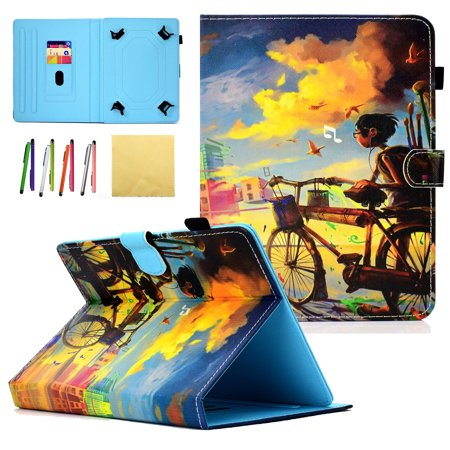 Universal 7.0 inch Case, Goodest PU Leather Stand Covers Case for Samsung Galaxy Tab A 7.0/ Tab E Lite 7.0/ Fire 7.0/ Huawei MediaPad/ Google Nexus/ Lenovo/ Kobo/ HP and More 6.5 to 7.5 inch Tablet](huawei mediapad x1 7.0 lte)