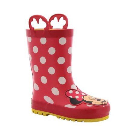 Girls' Western Chief Minnie Mouse Rain - Girl Cowgirl Boots