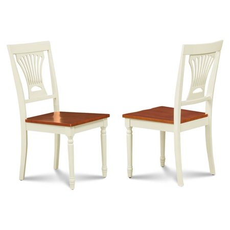 Buttermilk Finish (Side Chair in Cherry and Buttermilk Finish - Set of)