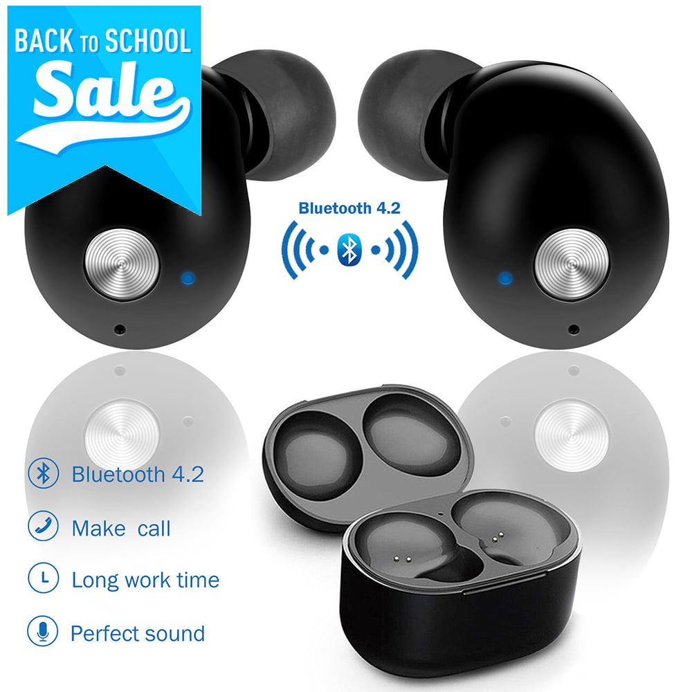 Mini True Wireless Twins Bluetooth 4.2 Earbuds In-Ear Stereo Surround Music Earphones Sport Headset Headphone