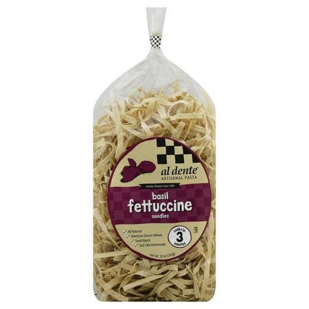 Image of Al Dente Basil Fettucine Pasta 12 Ounce