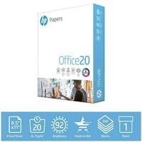 HP Printer Paper, Office 20lb, 8.5x11, 1 Ream, 500 Sheets