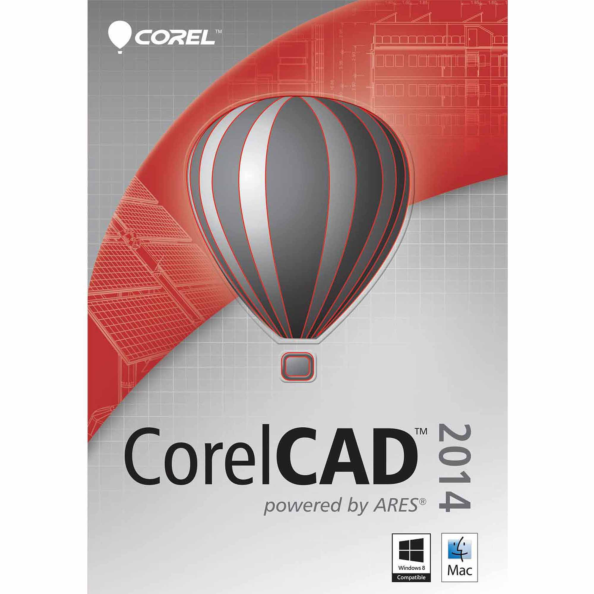 Corel ESDCCAD2014MLUGAM CorelCAD 2014 Upgrade ESD Software (PC/Mac) (Digital Code)