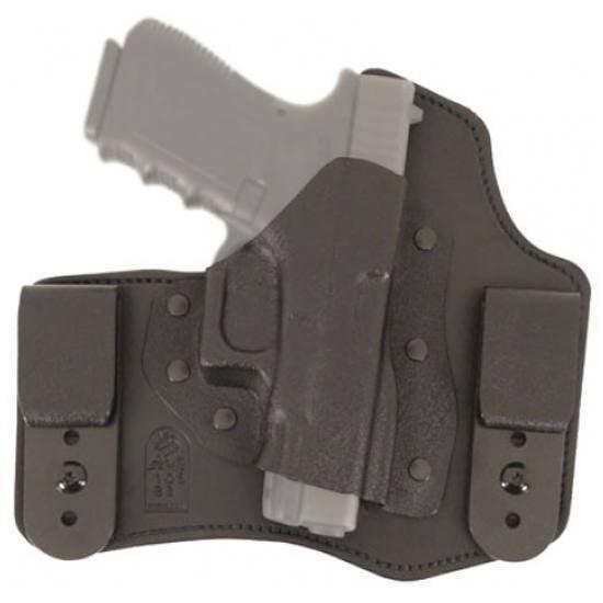 Desantis Intruder Inside The Pant Holster, Fits Glock 43, Right Hand, Leather & Black Kydex 105KA8BZ0 by Desantis