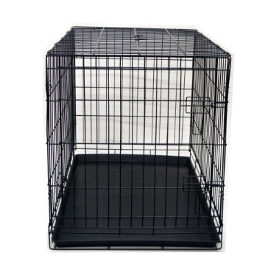 (36 Pet Folding Dog Cat Crate Cage Kennel w/ABS Tray by BestPet)
