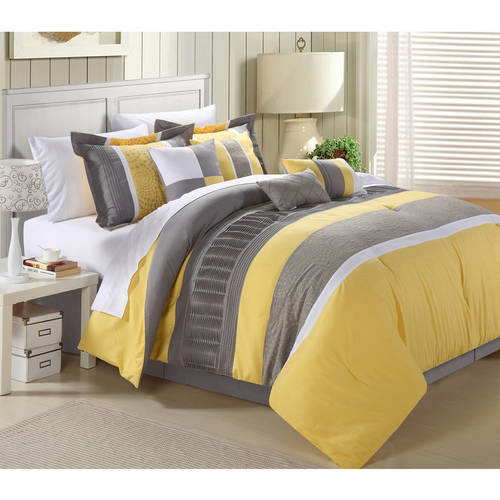 Euphrasia 8 Piece Bedding Comforter Set Walmart Com