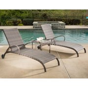 Tutto All-Weather Wicker Chaise Lounge Set