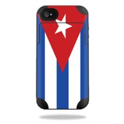 Mightyskins Protective Vinyl Skin Decal Cover for Mophie Juice Pack Plus iPhone 4 / 4S External Battery Case wrap sticker skins Cuban Flag