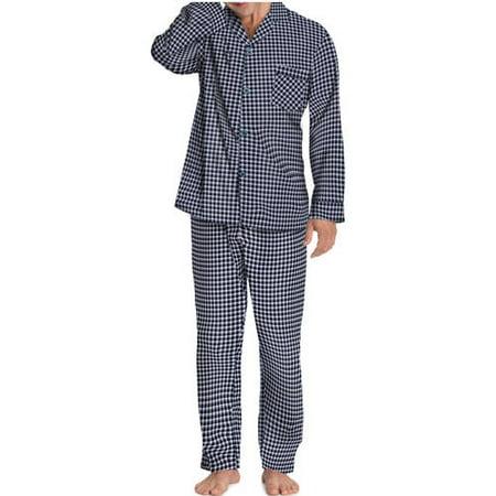 Hanes Men's Woven Pajama Set](Personalized Mens Pajamas)