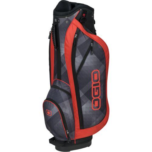 New Ogio Dime Cart Bag - Strilux / Orange