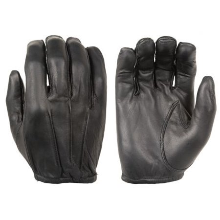 Damascus D20P Dyna-Thin Unlined Leather Gloves with Short Cuffs, Medium, Black