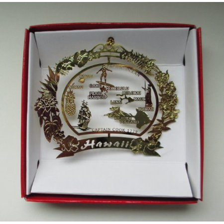 Hawaii Christmas Ornament Hawaiian Island Travel Souvenir Gift - Hawaiian Christmas Ornaments