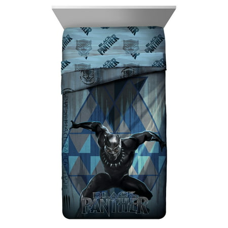 Black Panther Reversible Twin Comforter