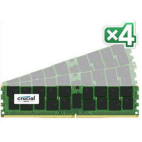 Crucial 64GB kit (16GBx4) DDR4 PC4-17000 Registered ECC 1.2V
