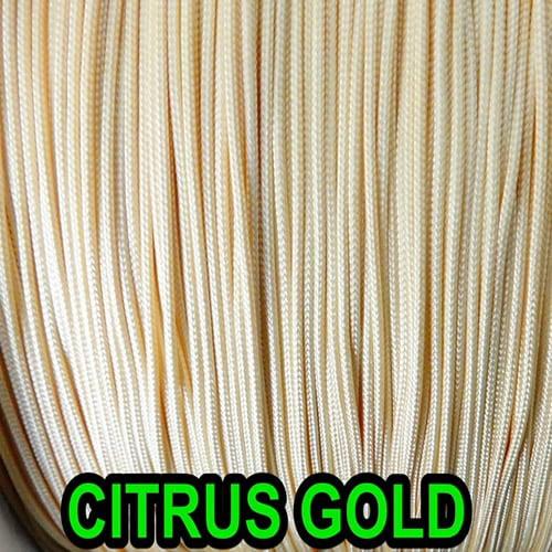 10 YARDS: 0.9 MM, CITRUS GOLD Professional Grade Nylon Lift Cord For Window Treatments