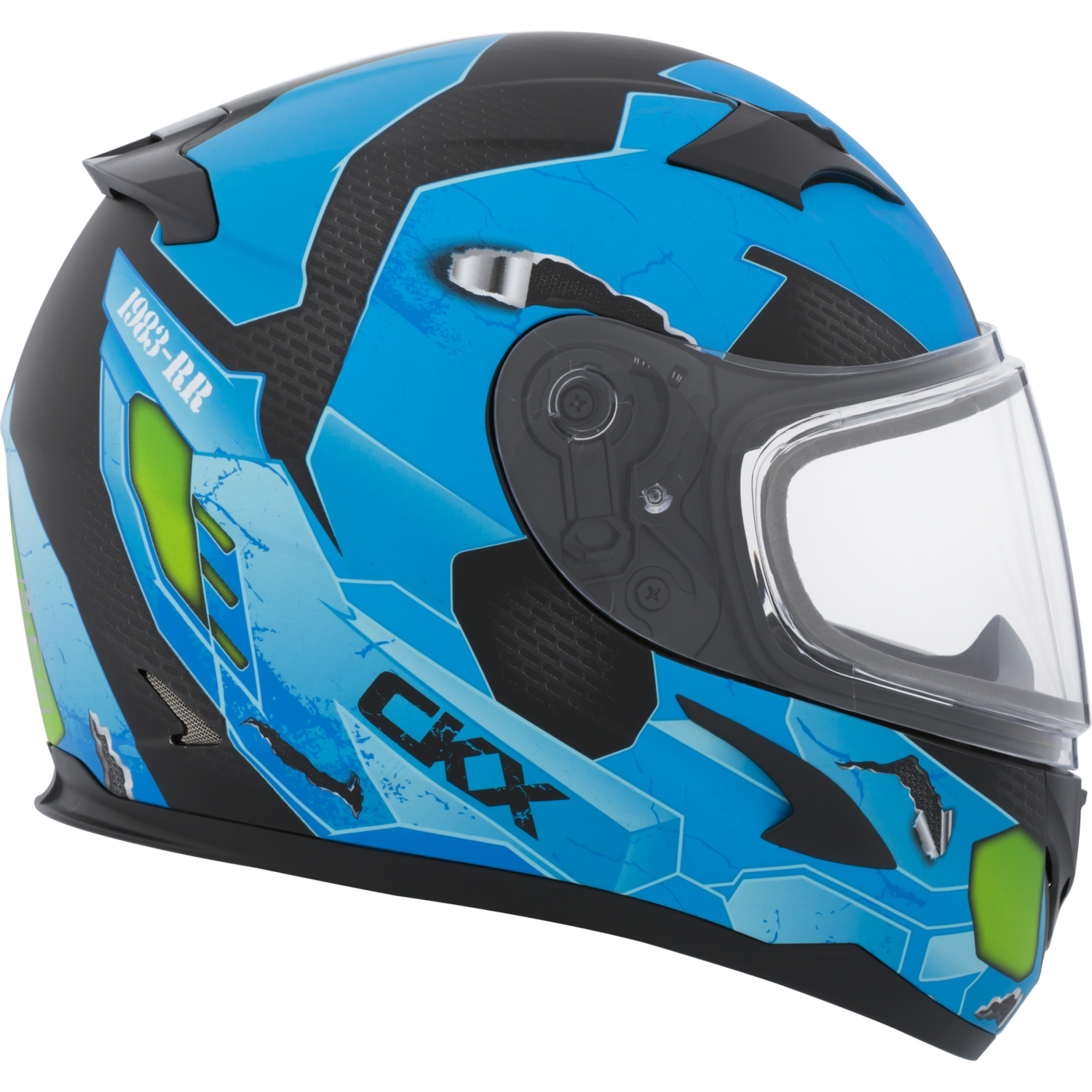CKX Cosmos RR610Y Full-Face Helmet, Winter - Youth Double Shield