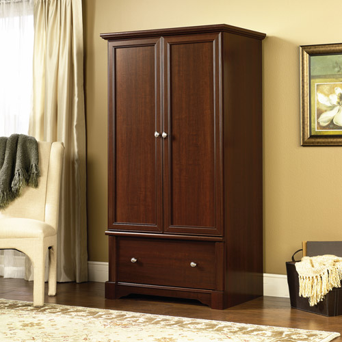 Sauder Palladia Armoire, Multiple Finishes