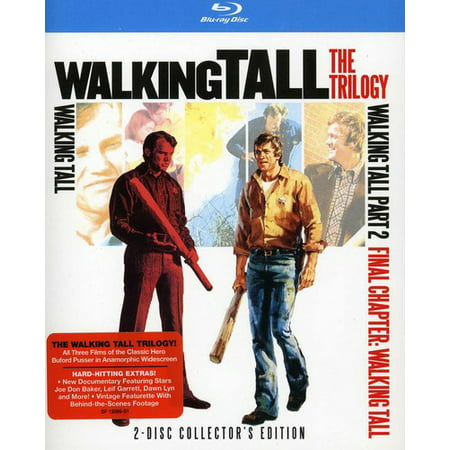 Walking Tall: The Trilogy (Blu-ray) (Cast Of Walking Tall With The Rock)