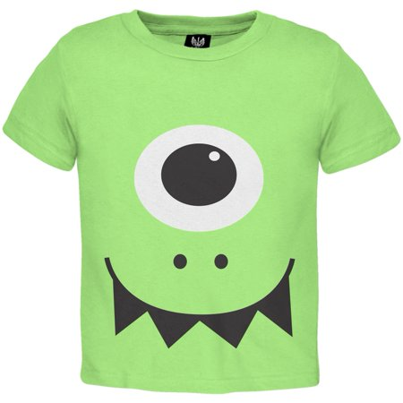 Halloween Monster Face Costume Toddler T-Shirt