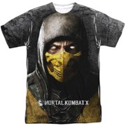 Mortal Kombat X - Finish Him (Front/Back Print) - Short Sleeve Shirt - Small