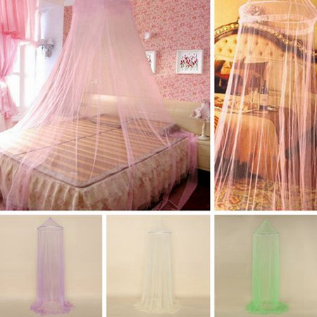 Dome Lace Mosquito Net Fly Indoor Insect Protection Bed Canopy Mesh Curtain
