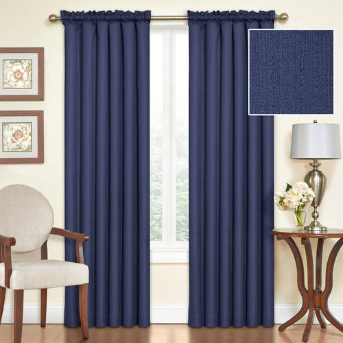 Eclipse Samara Blackout Energy-Efficient Thermal Curtain Panel by Ellery Holdings LLC