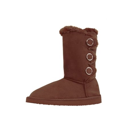 LAVRA Women's Fur Winter Boots