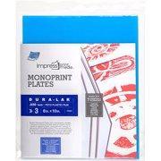"Impress Monoprint Plates, 3pk, 8"" x 10"""