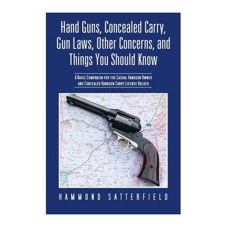 Hand Guns, Concealed Carry, Gun Laws, Other Concerns, and Things You Should Know : A Basic Companion for the Casual Handgun Owner and Concealed Handgun - Thing 1 And Thing 2 Iron On